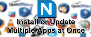 Install and update software with Ninite